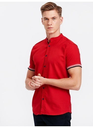 LC Waikiki Gömlek Kırmızı